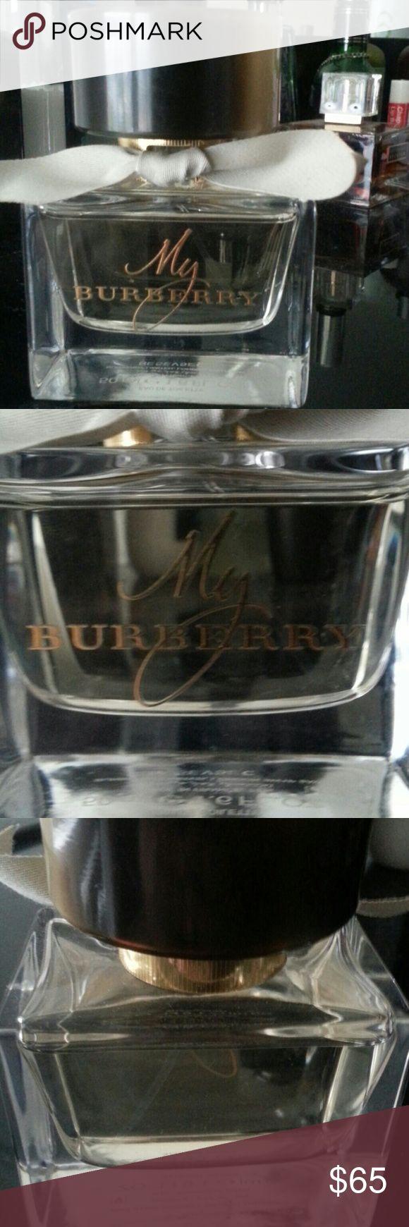 1.6oz My burberry perfume Like new full bottle, hardly used. Eau de toilette perfume by Burberry. Beautiful fragrance. Burberry Other
