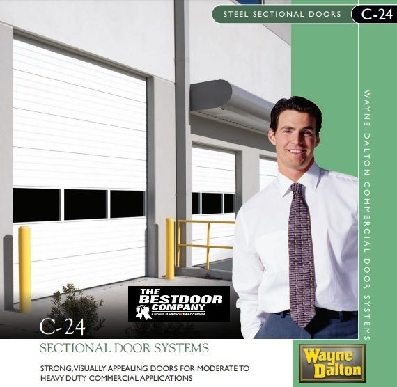 Wayne Dalton Aluminum Full View Doors Are Ideally Suited For Commercial Applications Ranging From Car Washes And Tire Sectional Door Wayne Dalton Dalton Model