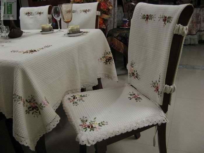 Cotton Slipcovers For Dining Room Chairs