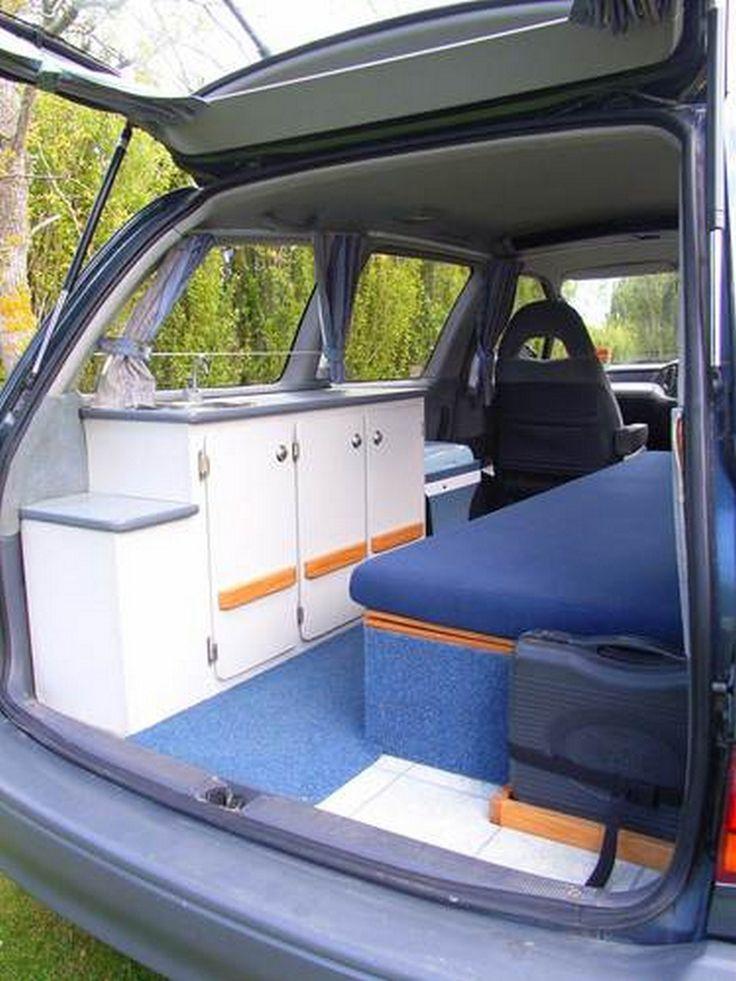 Build A Toyota >> 99 DIY Mini Van Camping Ideas You Should Try (23 | Minivan ...