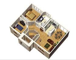 Floor plan post war 2 bedroom bungalow canada   Google Search46 best My pins images on Pinterest   Architecture  Small houses  . Home Designs And Plans. Home Design Ideas