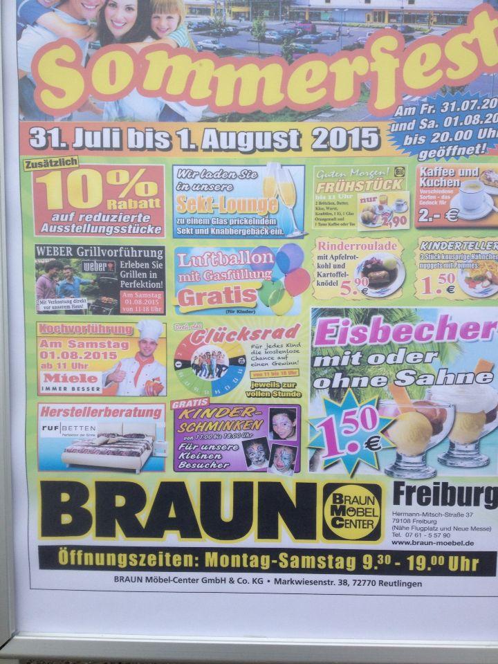 Luxury Sommerfest in Freiburg