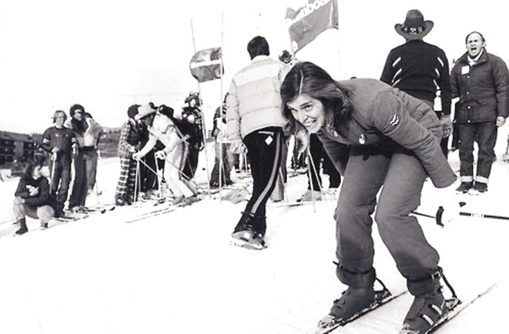 Eunice Kennedy Shriver skiing( (July 10, 1921 – August 11, 2009) was a member of the Kennedy family, sister of President John F. Kennedy and Senators Robert F. Kennedy and Ted Kennedy. Eunice Kennedy Shriver was the founder in 1962 of Camp Shriver which started on her Maryland farm known as Timberlawn and, in 1968 evolved into the Special Olympics) ♡❤❤❤♡❤♡❤❤❤♡ http://en.wikipedia.org/wiki/Eunice_Kennedy_Shriver