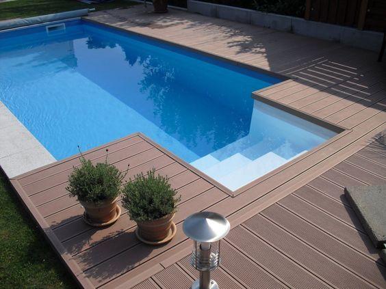 """pool selbstbau: """"poolvergnügen für jeden"""" mit unserem, Garten dekoo"""