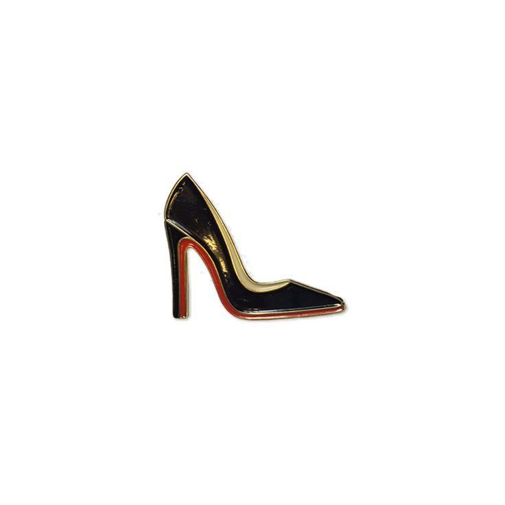 Red Bottoms Enamel Lapel Pin by PoppinPins on Etsy