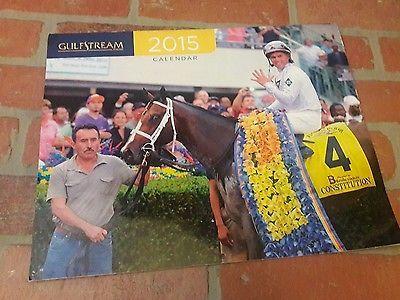 2015 Florida Gulfstream Park Race Track Course Calendar Horse Racing Equestrian