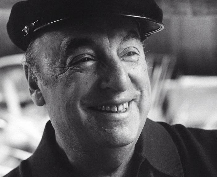 Pablo Neruda. Foto: Luis Poirot (1970)