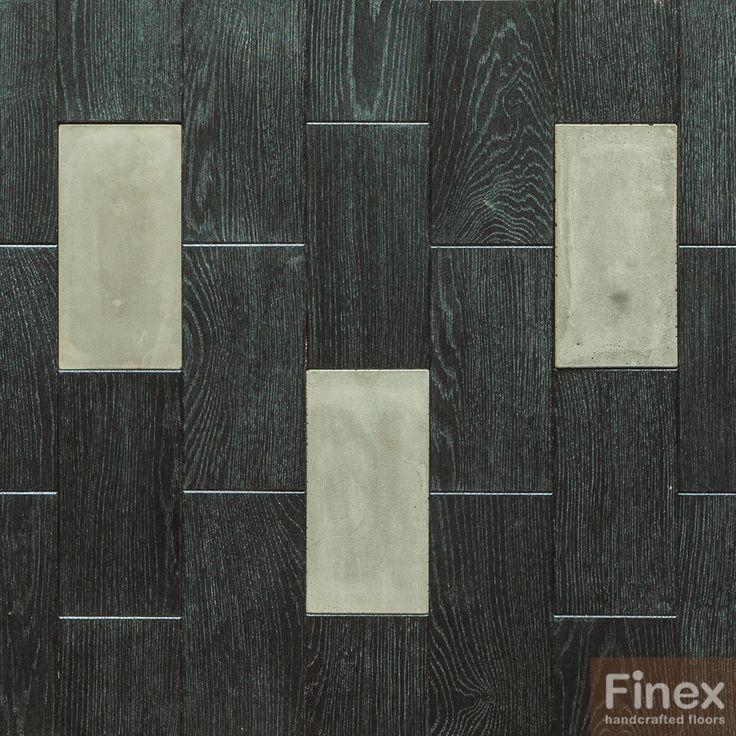 Стеновая панель «Брикворк с бетоном» Дизайн поверхности «Металлик блэк». Заказать образцы и каталог можно по ссылке: http://moscowdesignfloors.ru/ Скачать 3D фактуры дерева можно по ссылке: http://3d.moscowdesignfloors.ru