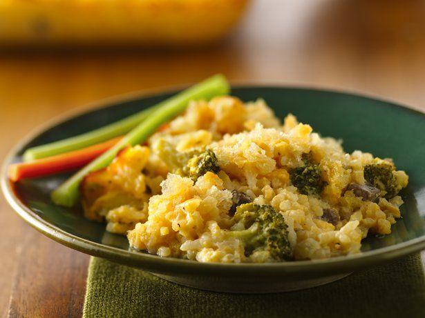 Cheesy Broccoli-Rice Bake | Recipe | Broccoli Rice, Rice ...