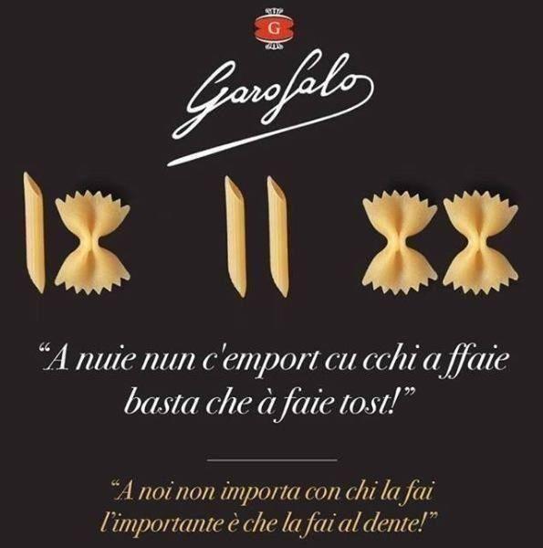 Pasta Garofalo rules