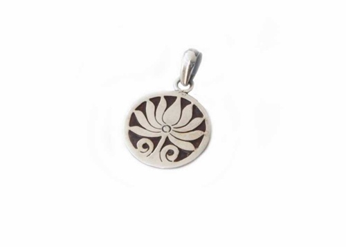 Bodhi Tree Pendant  Part of our Mindfulness Collection, the Bodhi Tree Pendant is handcrafted by our artisans in Nepal from sterling silver. Measures 2cm wide by 2.5cm long.  Price: $45