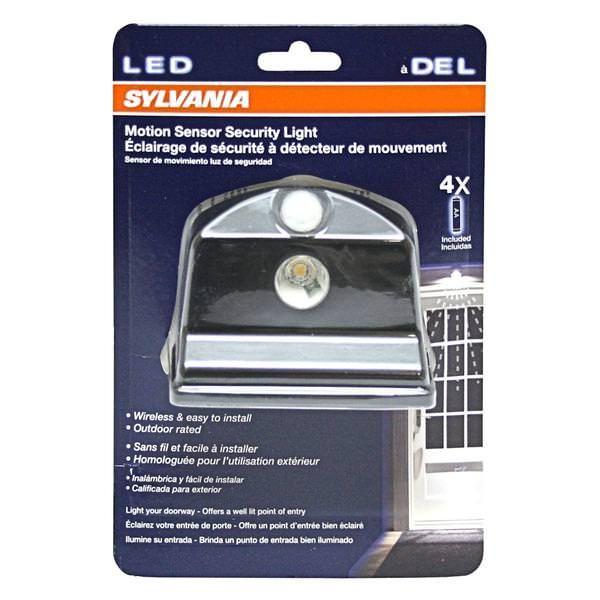 Sylvania 72317 Led Motion Security Portable Wireless Entry Garage Yard Light Fixture Led