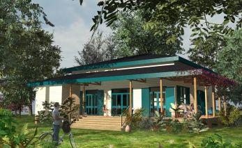 Plan maison bois - Archionline