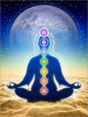 Dirk Czarnota - In Meditation mit Chakren - Blauer Mond Edition
