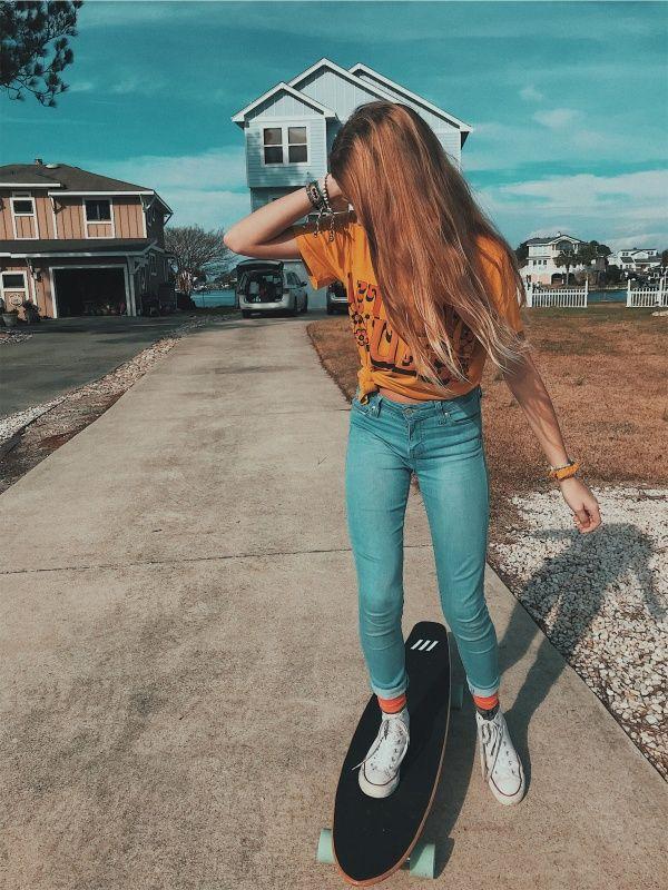 Vsco Repubtht Skylarlynmarie With Images Skater Girl
