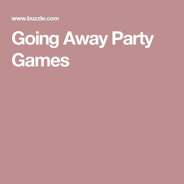 Fun-filled Going Away Party Games to Make Merry Memories