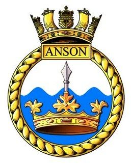 Image result for hms anson badge