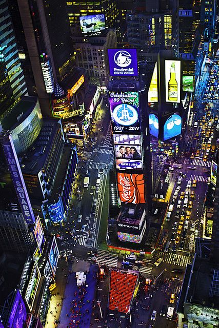 Times Square, NYC - no matter how many times I see a picture of New York or Times Square, I'm always amazed.