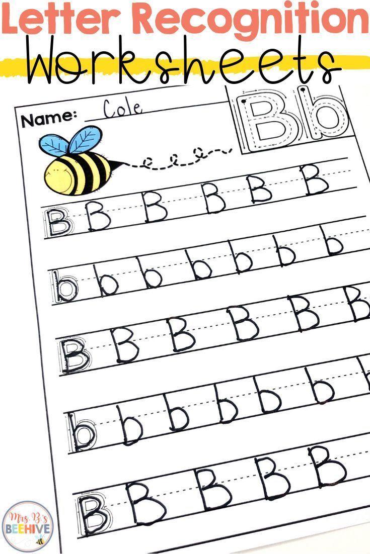 Letter Recognition Worksheets In 2020 Letter Recognition Worksheets Letter Recognition Letter Recognition Kindergarten