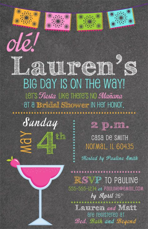 mexican fiesta bridal shower invitations fiesta ole pinterest bridal shower bridal shower invitations and bridal