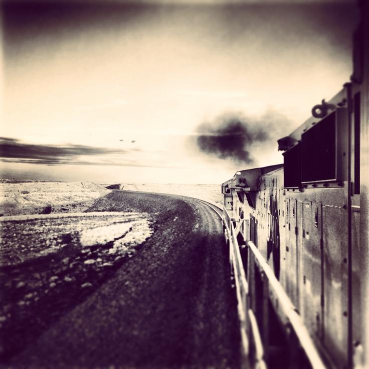 Iron Ore train Pilbara Western Australia