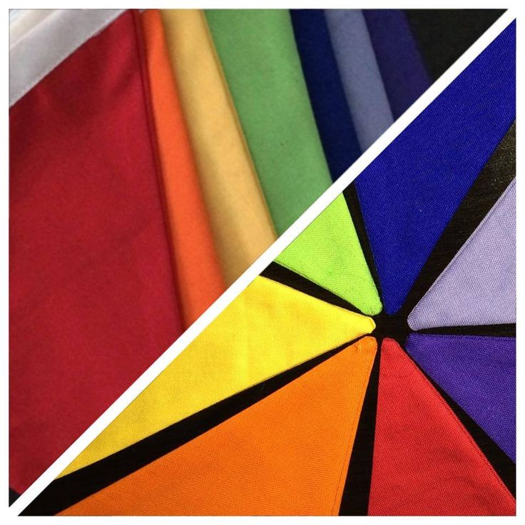 Handmade by Jacqui at Flying High Baby Goods Beautiful rainbow bunting. 2.5 meters including 40cm at each end for hanging.