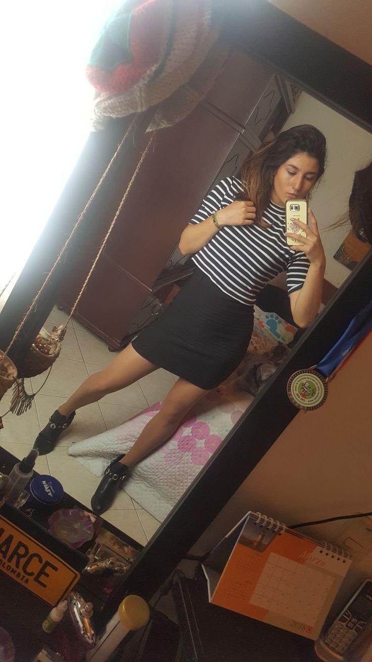 #blackandwhite #outfit