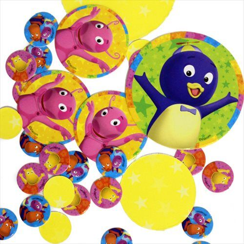 backyardigans confetti backyardigans birthday party
