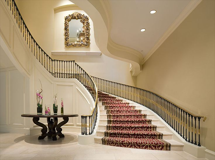 35 best elliptical stairs images on pinterest stairways for Grand staircase design