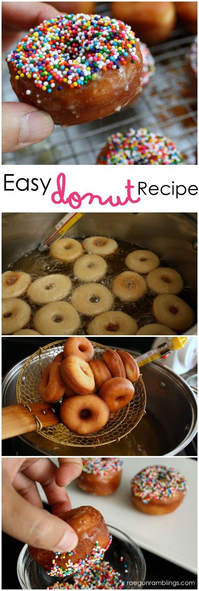 Dairy Free Donut Recipe and Mini Donut Recipe Round Up - Rae Gun Ramblings