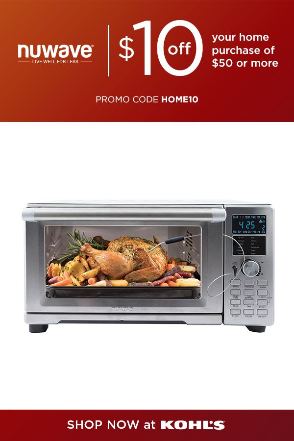 Nuwave Bravo Xl Air Fryer Convection Oven As Seen On Tv Oven Countertop Oven Nuwave