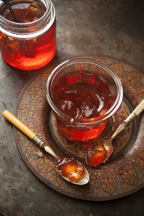 Quince jelly (recipe)   Linda Tubby and Angela Dukes // Food & Travel