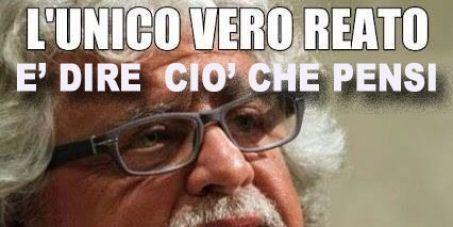 italiani: che si associno per solidarietà  alla protesta a favore di grillo,contro processi persecutori,firmiamo