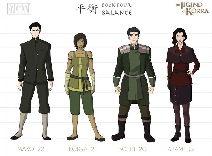 Legend of korra team avatar grown up legends avatar regime book