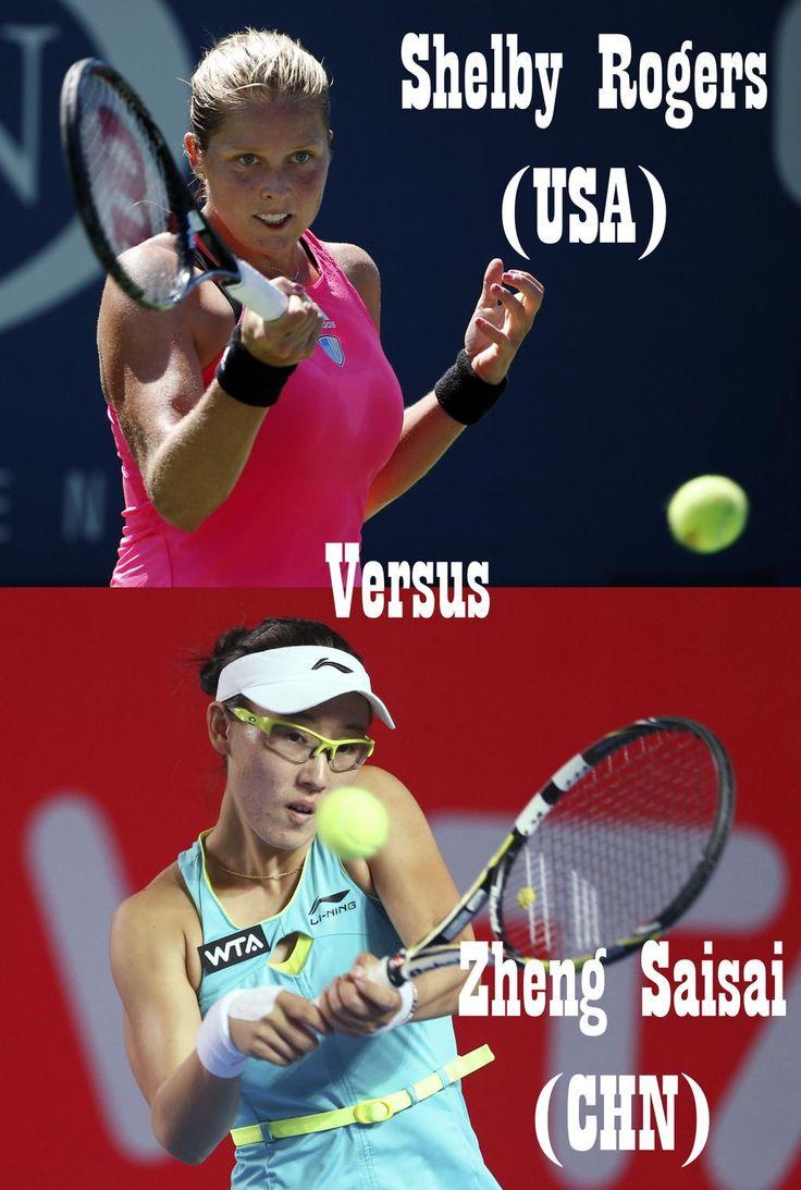10/16/14 Via US Embassy Singapore:  ·  Catch the faceoff btwn @WTA #RisingStars Shelby Rogers (USA) & Zheng Saisai (CHN) tmr 5pm @ OCBC Arena! It's free!