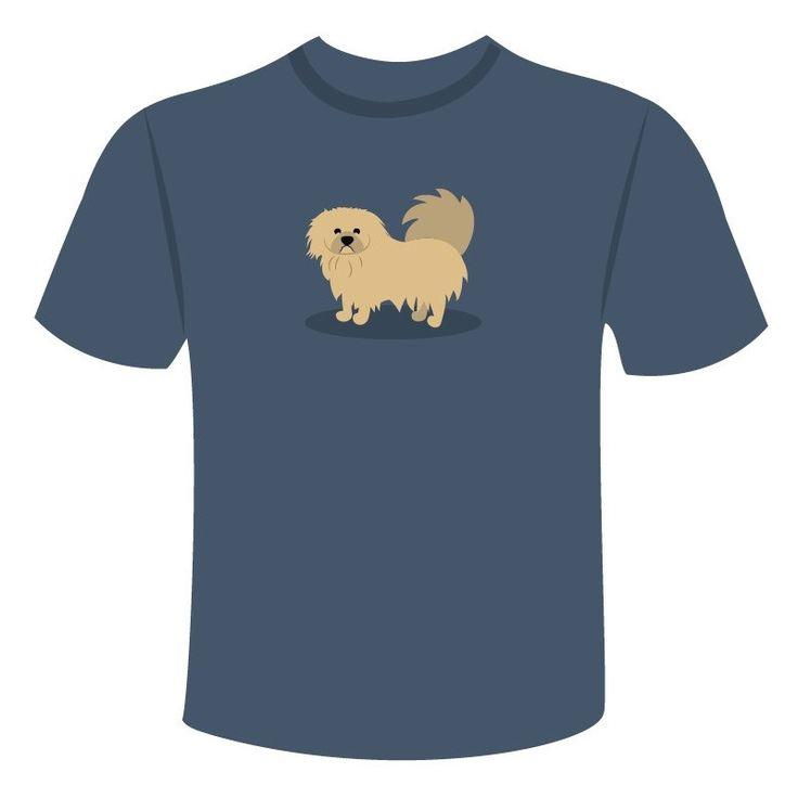 Compra la camiseta de tu perro pekinés con el diseño más original. Elige entre varios colores y tallas. ¡Lleva tu Pekin siempre contigo!