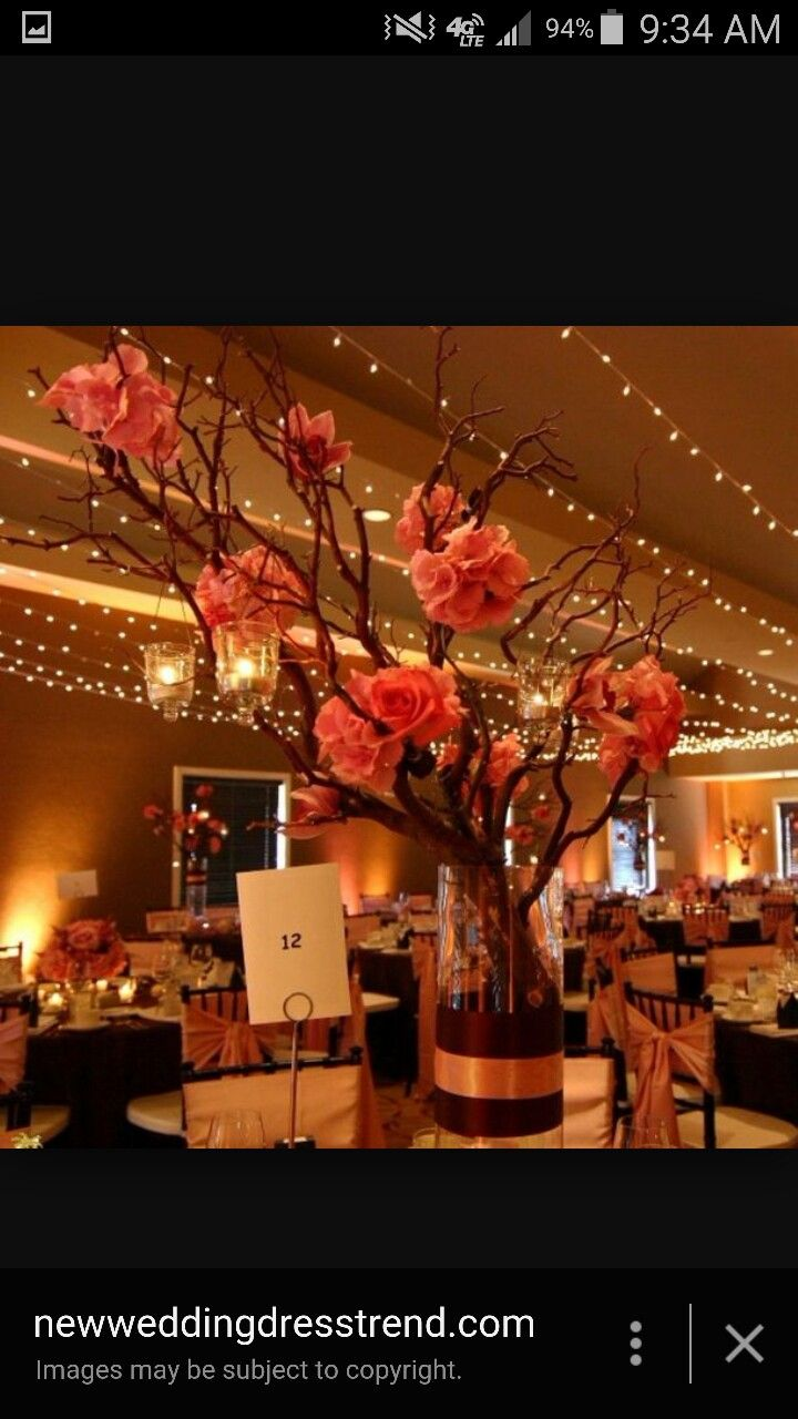 Preserving Tree Branches For Decoration 17 Best Ideas About Tree Branch Centerpieces On Pinterest