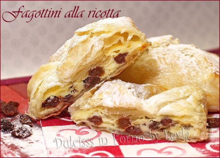 Fagottini alla ricotta di pasta sfoglia o Topfentaschen - Alto Adige