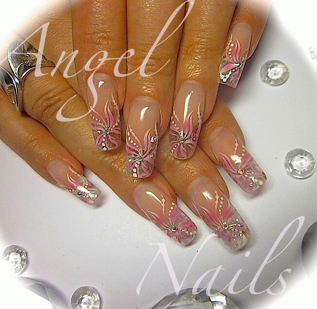 Nails by Angel .... #elegant #bridal #nail design
