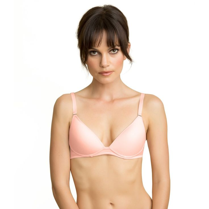 Ariette Petite Lingerie by The Little Bra Company Aida Convertible No Wire Soft Pink 36A, Barely Pink