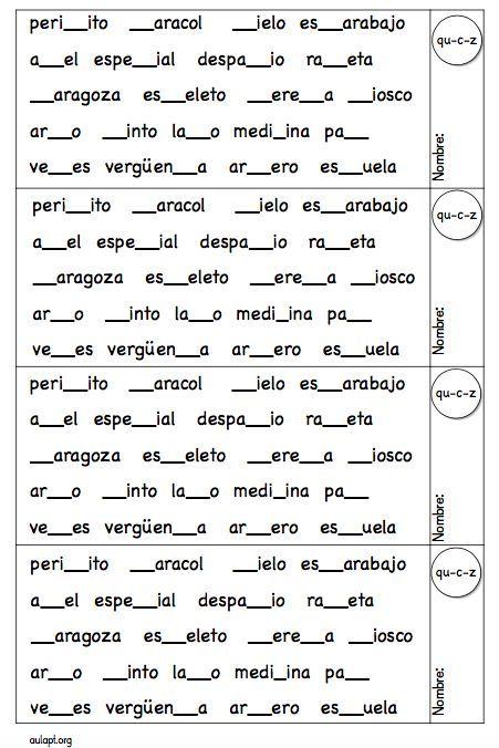 Nueva ficha para trabajar la ortografía, sigue el modelo de ficha presentado como PROGRAMA PARA EL REFUERZO DE ORTOGRAFÍA que os compartía esta semana. Aquí
