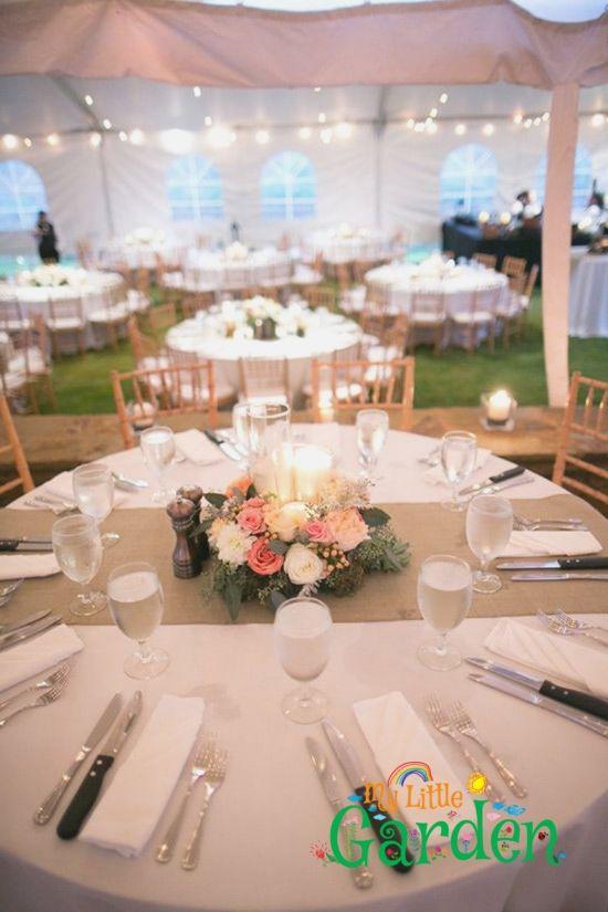 20 Blumenbeispiele auf runden Tischen zur Hochzeit Bild 6   – Danielle's Gartnern