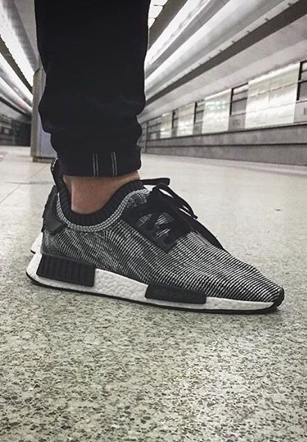 adidas Originals BLACK/WHITE #NMD #adidas
