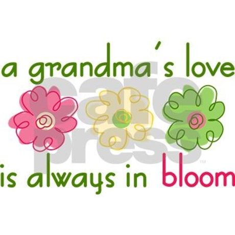 Grandma's Love Rectangle Magnet by listing-store-71974099