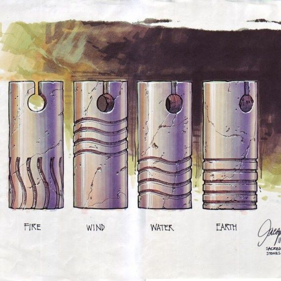 The Fifth Element: 40 Original Concept Art Gallery