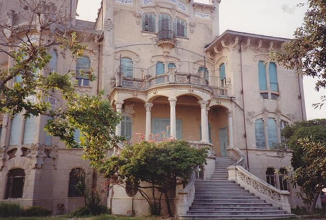 Savona, Villa Zanelli: il lato prospiciente il mare by Valerio_D, via Flickr