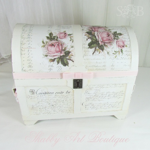 gorgeous shabby chic box