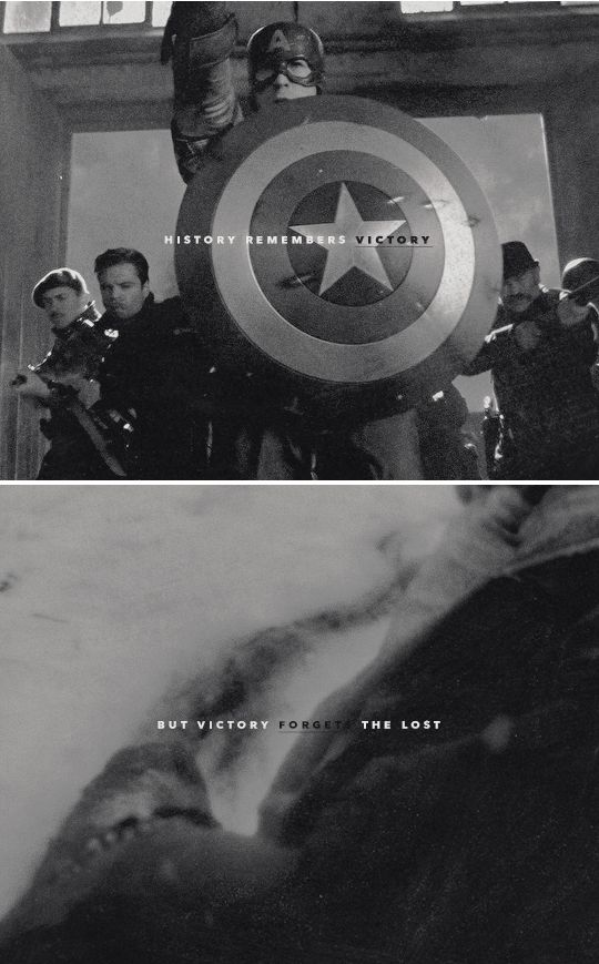 The lost leave behind the fallen, and the fallen don't speak of sorrow. #marvel
