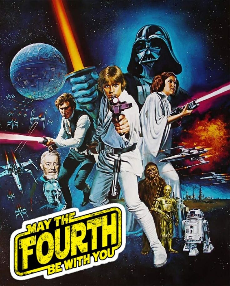 May The Fourth Be With You Cartoon: OT: Happy Star Wars Day!