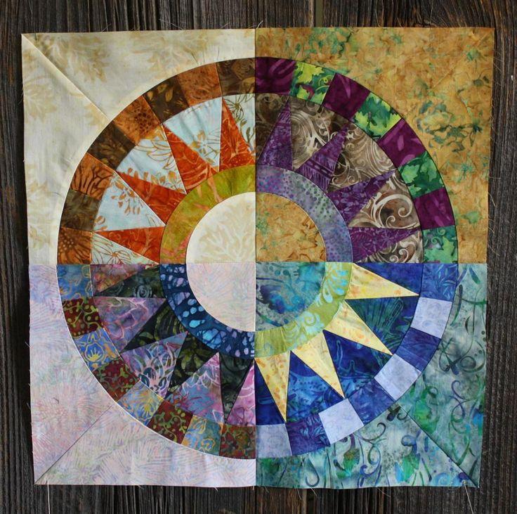 Name Of Old Circle Pattern Quilt Design